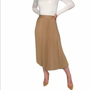 Wilfred Ortega Pleated Midi Skirt